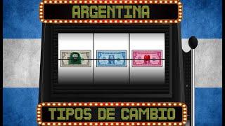 Argentina y sus distintos dolares