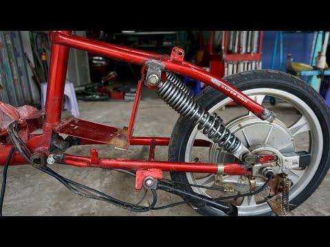 Tự Chế Giảm Sóc Xe đạp điện - Bicycle Shock Absorber