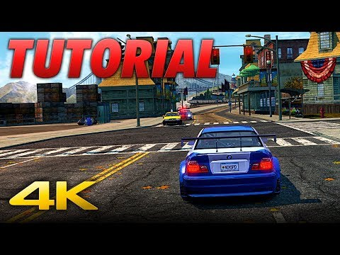 NFS Most Wanted REDUX | Download, Install And Improve It [GUIDE]