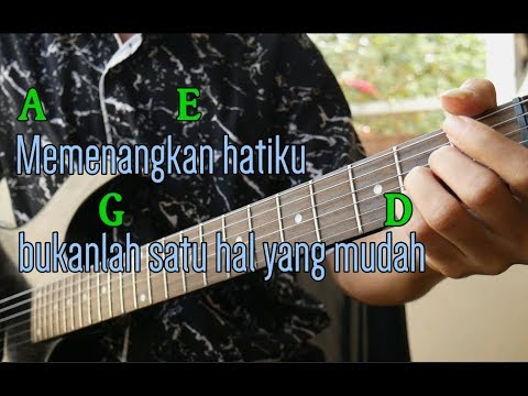 Virgoun BUKTI Kunci Gitar TAB PETIKAN Intro MUDAH