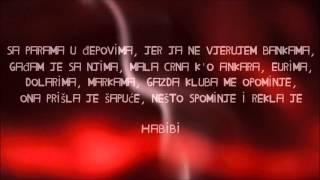 RASTA FT. BUBA CORELLI - HABIBI (TEKST)