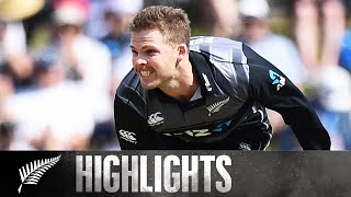 England Lose 5 for 10! | HIGHLIGHTS | 3rd T20 - BLACKCAPS v England, 2019