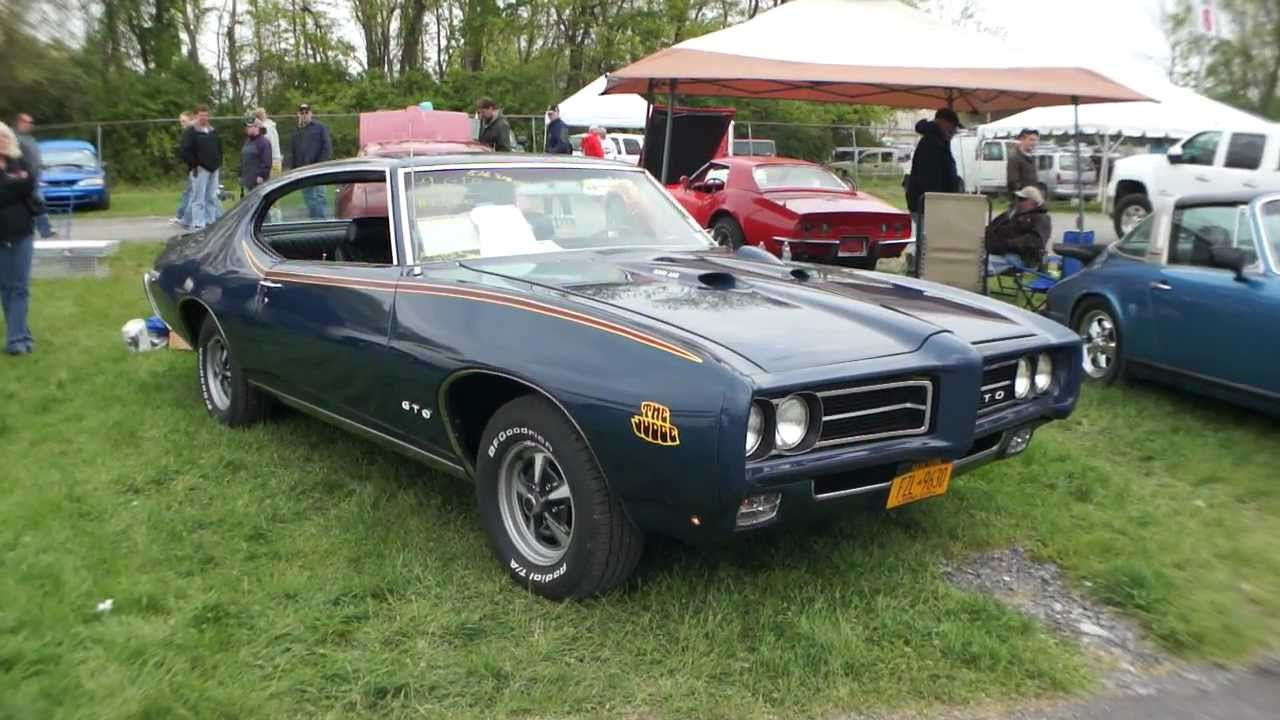 1969 GTO Judge Ram Air III For Sale~Automatic~Frame off ...