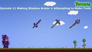 terraria full shadow armor video, terraria full shadow armor
