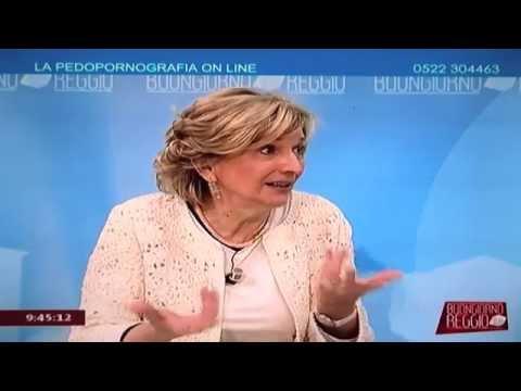 """Vanna Iori: """"Come combattere la pedopornografia online"""" @ Buongiorno Reggio - TeleReggio"""