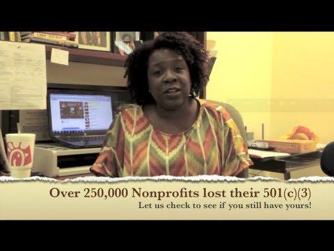 Over 250,000 Nonprofits Lose Their 501c)(3) Status