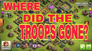What is happening in Clash of Clans !! Where did the troops gone ? Anyone know so tell in comments.