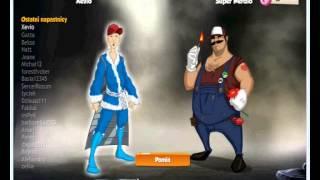 Hero zero walka z łotrem Super Nerdio