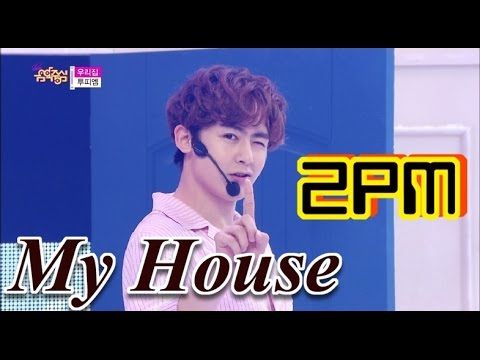 [Comeback Stage] 2PM - My House, 투피엠 - 우리집, Show Music Core 20150620