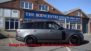 Range Rover Vogue having the black pack conversion The Bodycentre Ltd Norwich
