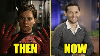 Spider-Man (2002) Cast Then And Now