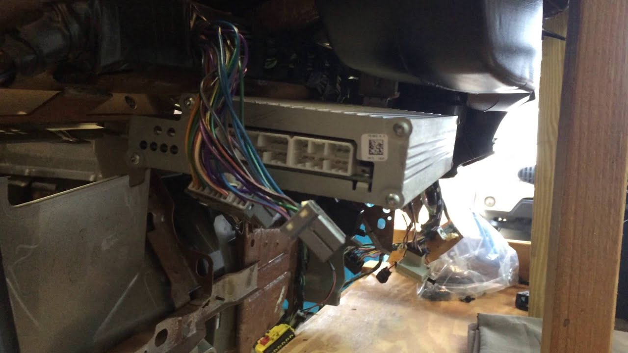2003 dodge ram 3500 infinity amp connections