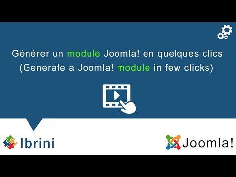 Générateur De Modules Joomla!