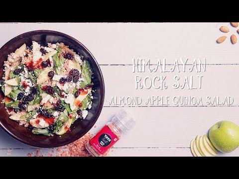 Quinoa Salad Recipe | BEST Almonds Apple Quinoa Salad Ever | Quick & Easy Healthy Salad Recipe