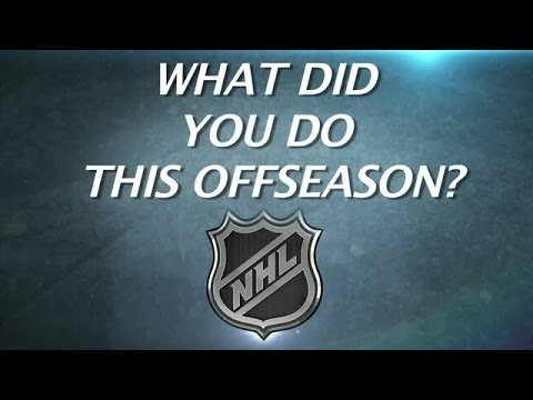 NHL Players - What Did You Do This Offseason?