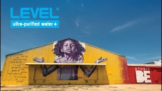 LEVEL Ultra-Purified Water at Studio Be