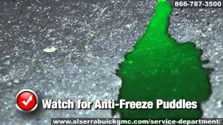 Buick GMC Radiator Coolant Flush Leak Repair Grand Blanc Flint Michigan Al Serra Auto Plaza