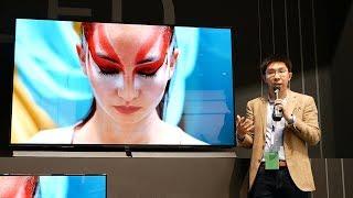 Panasonic's Giant 77-inch EZ1002/ EZ1000 OLED TV at IFA 2017!