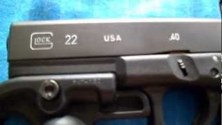 Glock 22 Machine Pistol Part One