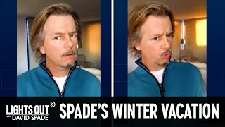 David Spade Reviews His Super Expensive Aspen Ski Trip - Lights Out with David Spade