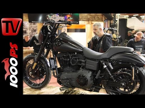 Harley Fat Bob mit Screamin Eagle Tuning, 200 Nm Drehmoment und Carbonbremsen