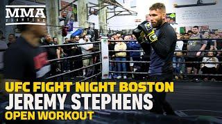 UFC Boston: Jeremy Stephens Open Workout Highlights - MMA Fighting