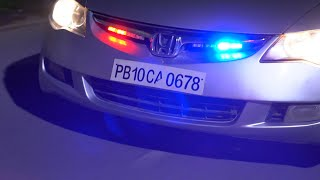 Police Lights Installation in Car Grill | 2019 Banggood Prime Sale