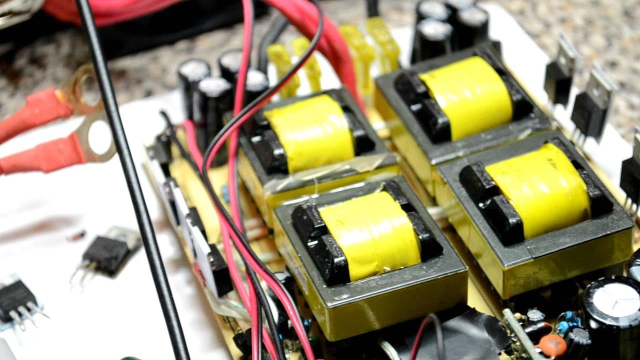 Sine Wave Ups Circuit Diagram Electronic