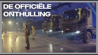 Scania Trucks afgeleverd aan Defensie - De officiële onthulling