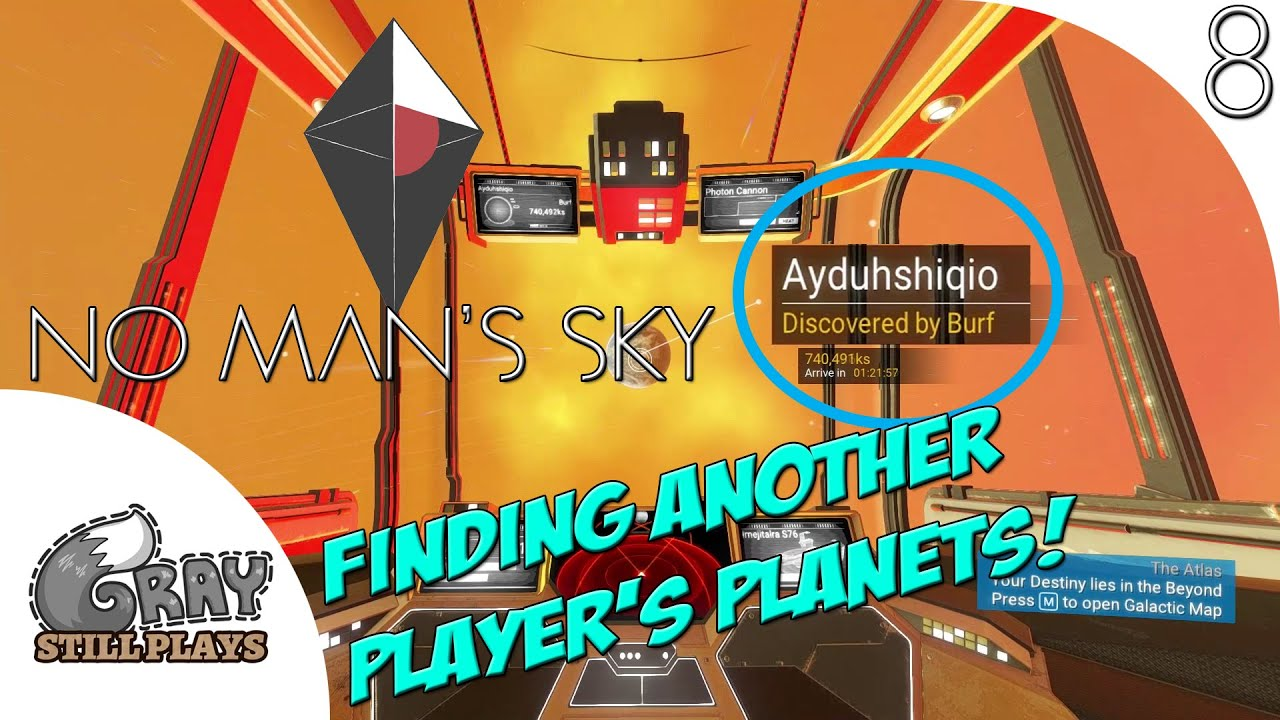 no man 39 s sky pc we find another players planet creatures can fight each other part 8. Black Bedroom Furniture Sets. Home Design Ideas