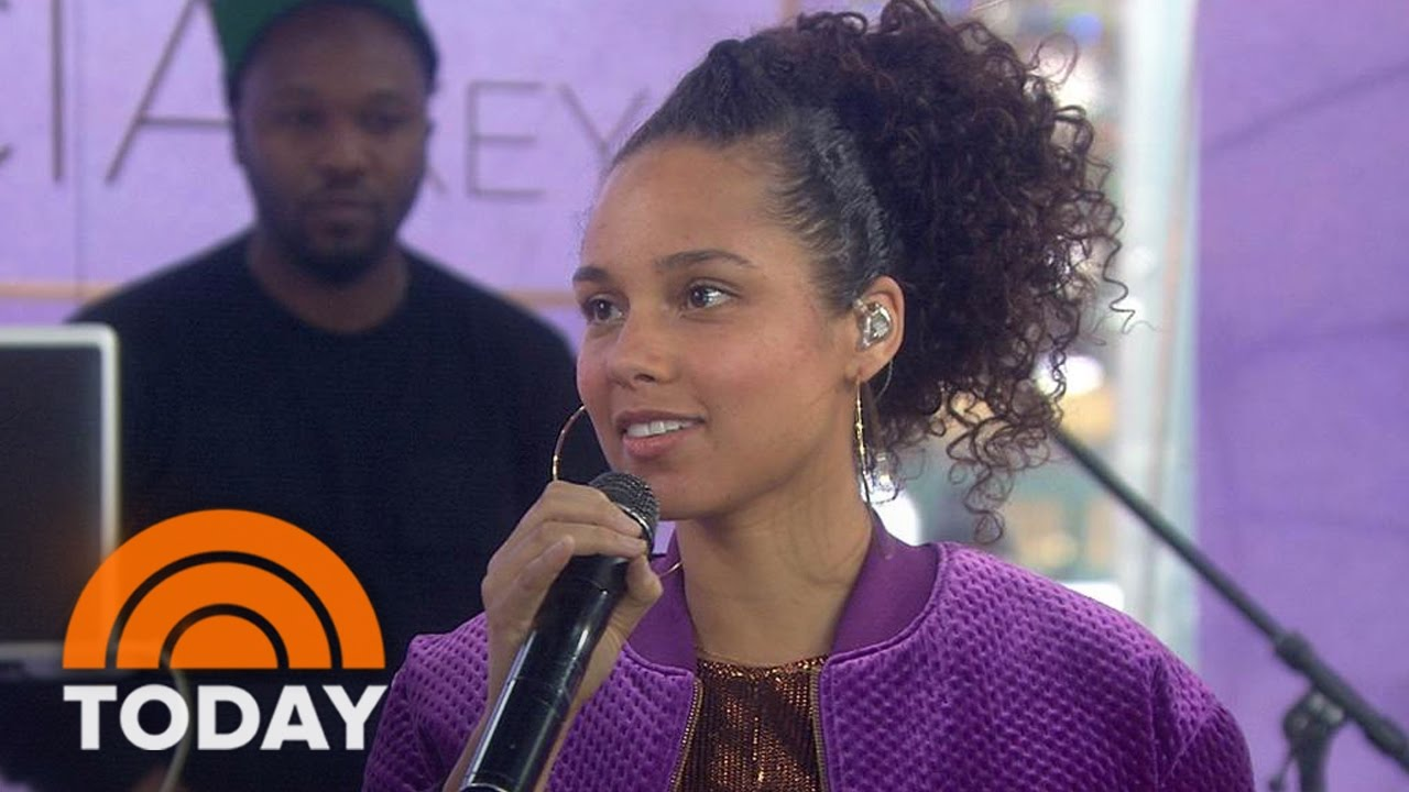 Alicia Keys My New Album Here Is An Important Body Of Work For Me Today Youtube