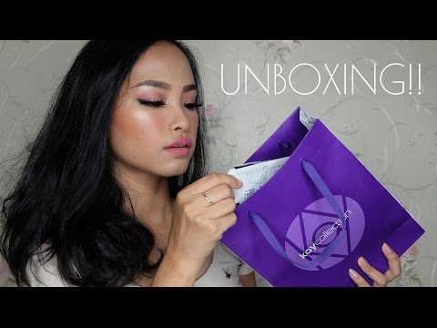 UNBOXING Kay Collection March Package | Amyra Irzanti