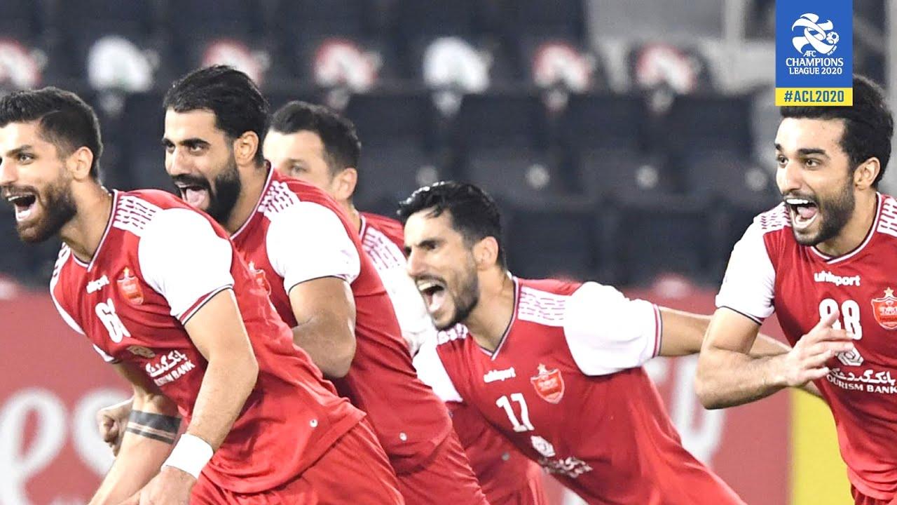 Persepolis Fc Vs Al Nassr Highlights Penalties Afc Asian Champions League Semifinal 3 10 2020 Youtube