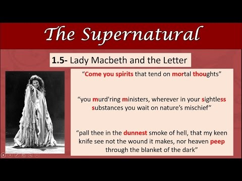 MACBETH REVISION: The Supernatural