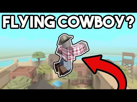 FLYING COWBOY? | ROBLOX: Wild Revolvers