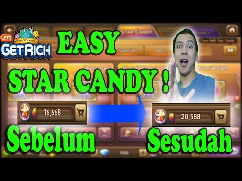 NEW EVENT GAMPANG DAPET STAR CANDY !!! - LINE LETS GET RICH INDONESIA #4