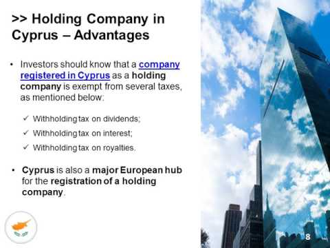 Holding Company in Cyprus
