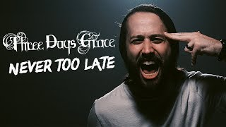 Скачать THREE DAYS GRACE Never Too Late Cover By Jonathan Young Lee Albrecht