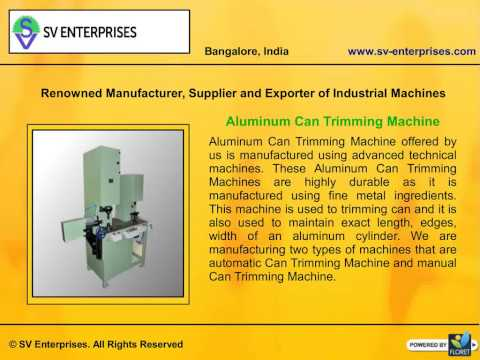 Industrial Machines Manufacturers in Bangalore, India
