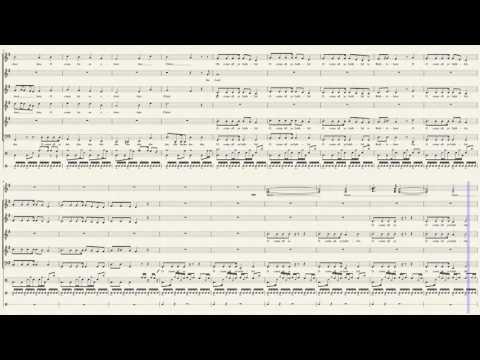 O Come All Ye Faithful - Pentatonix (Full Sheet Music)
