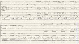 O Come All Ye Faithful - Pentatonix (Full Sheet Music)