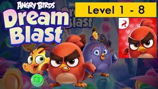 Angry birds dream blast - Level 1-8 - G a m e