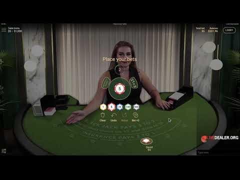 NetEnt Live Blackjack