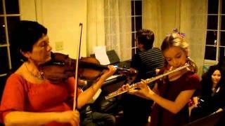 """""""Zhavoronok"""" (Lark) by Glinka (played by a trio)"""