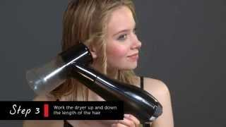 Remington Styling Pro 2150 Air Curler & Waver Attachment How to Video