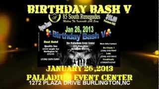 85 SOUTH RENEGADES BIRTHDAY BASH V JAN. 26 AT THE PALLADIUM EVENT CENTER