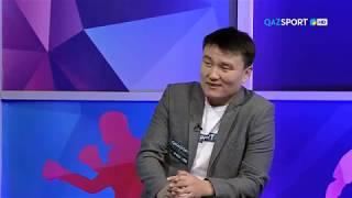 """""""QAZSPORT"""" қонағы.  Ринат Жұмабаев"""