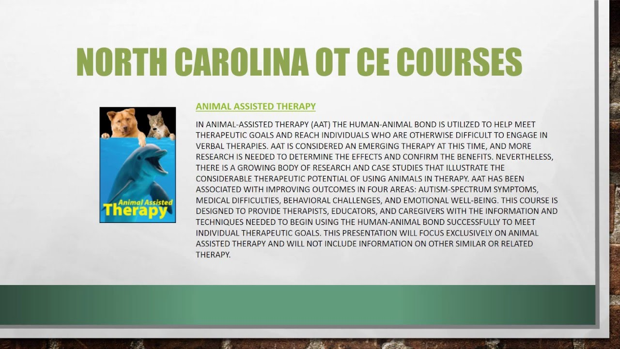 North Carolina Occupational Therapists Continuing ...
