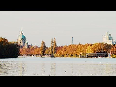 Goldener Oktober am Maschsee in Hannover