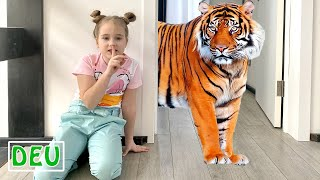 Annie und Tina hielten den Zoo zu Hause
